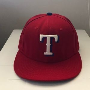 New Era Texas Rangers MLB Fitted